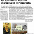 Questione En.Cor dscussa in Parlamento con Spadoni