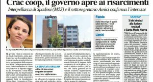 Rs interpellanza crac coop edili, Il Resto del Carlinojpg