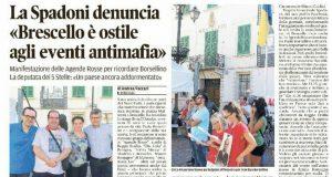Rs Brescello disertata la manifestazione Gazzetta di Reggio