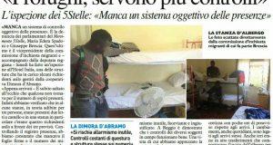 Rs controlli M5S strutture richiedenti asilo Resto del Carlino
