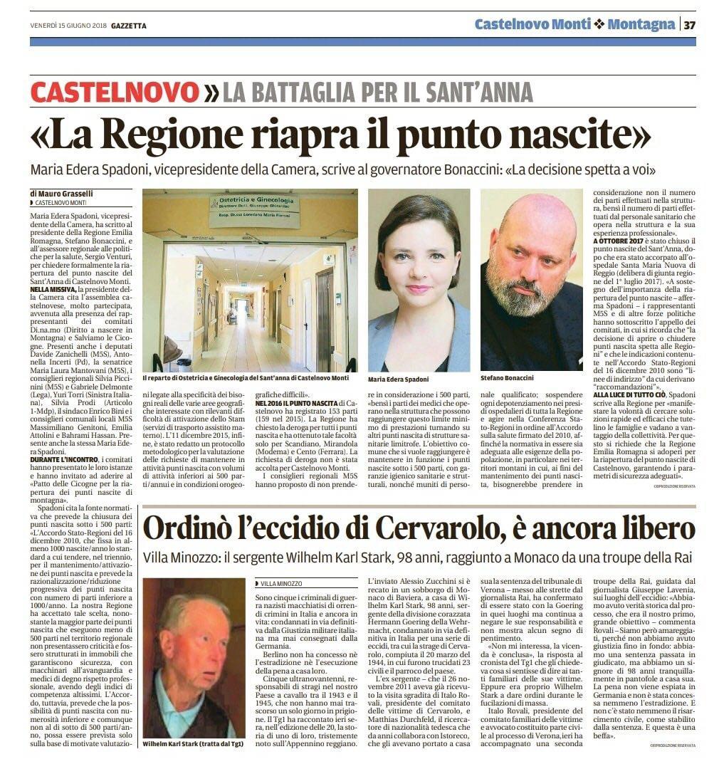 Rs_lettera Regione 15_06 Gazzetta