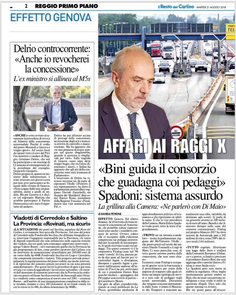 Intervista Carlino Bini pedaggi (1)
