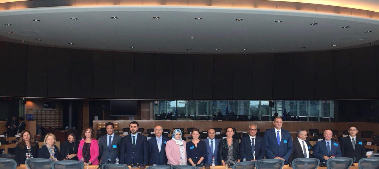 Riunione Segretariato Assemblea Mediaterraneo PE