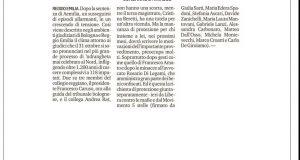 Rs_protezione giudici e legale Resto Gazzetta Reggio 22 Nov.