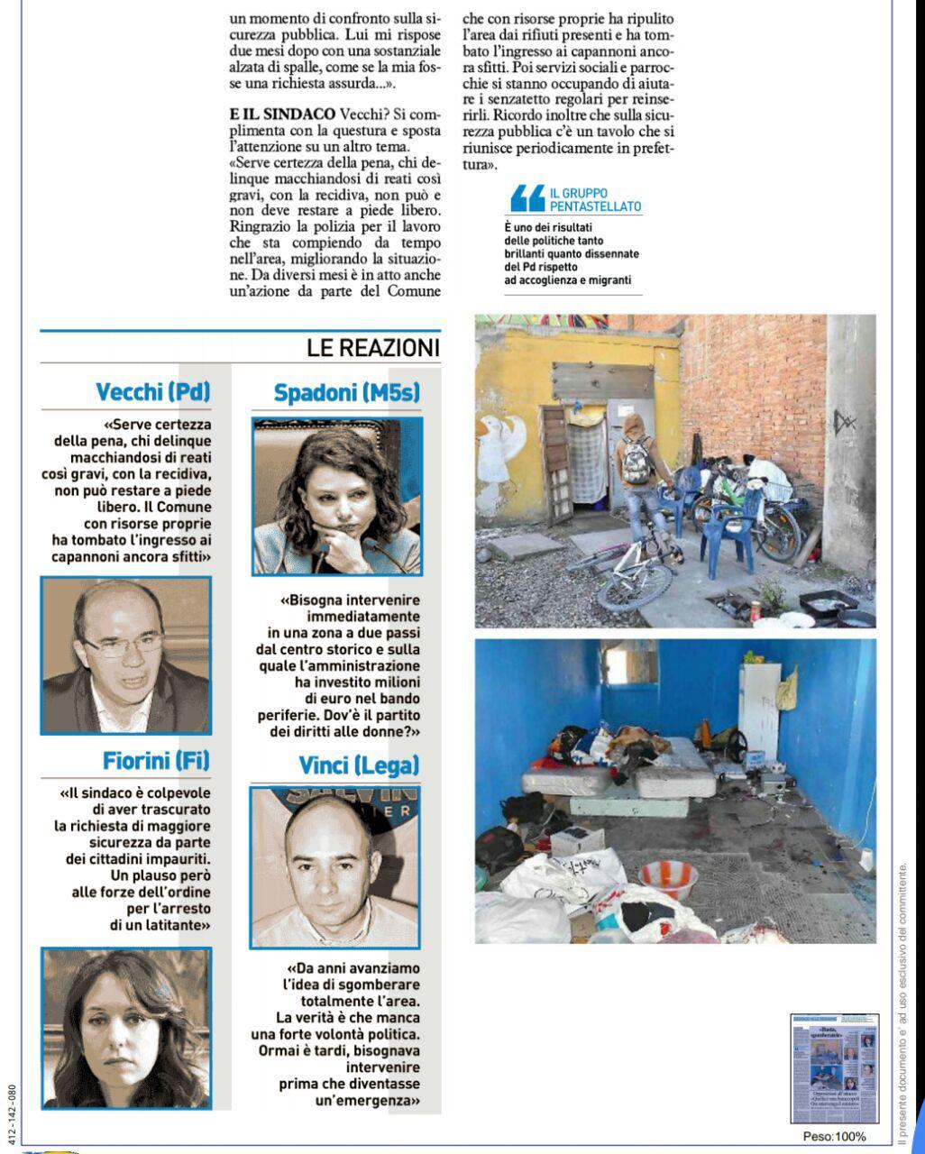"""Rs, M5S: """" Reggio città delle persone? Si, quelle nascote e illegali"""""""