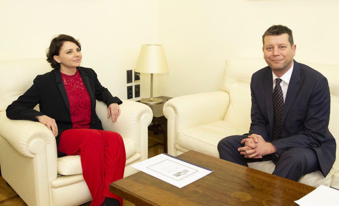 Alla Camera dei Deputati ho incontrato l'ambasciatore croato Jasen Mesić