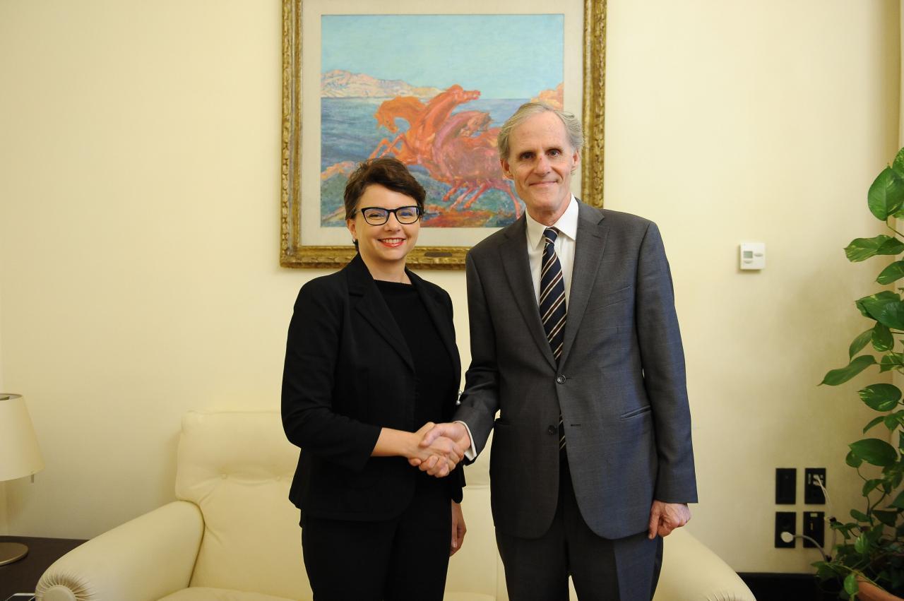 """Incontro ambasciatore francese Masset. VP Spadoni: """"Convergenze positive su gestione flussi migratori, direttiva antiriciclaggio e Green new deal"""""""