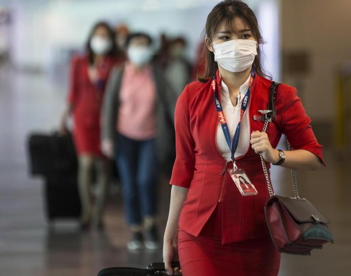 Coronavirus: su tutti i voli si doti di mascherina e guanti il personale