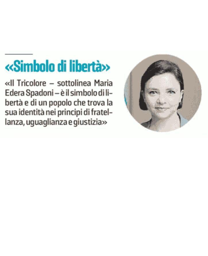 """Rs, Spadoni (M5S): """"Tricolore simbolo di libertà, uguaglianza e giustizia"""""""