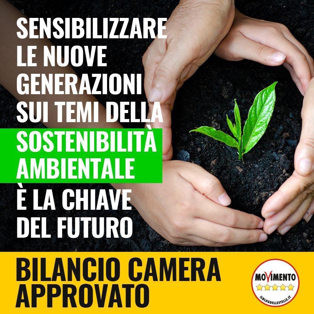 """Bilancio Camera approvato, Spadoni (M5S): """"Con un ordine del giorno a mia prima firma promuoviamo una campagna di sensibilizzazione sui 17 obiettivi dell'Agenda Globale per lo sviluppo sostenibile"""""""