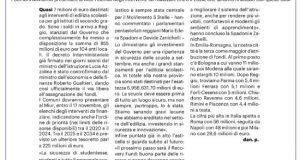 7 milioni di euro per edilizia scolastica reggio