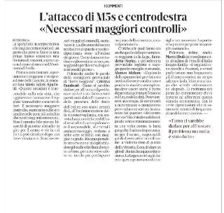 Sparatoria a Reggio Emilia. Necessari maggiori controlli!