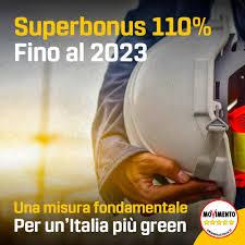 """M5S: """"FONDAMENTALE PROROGARE IL SUPERBONUS 110%. CHI SI OPPONE FA MALE A ECONOMIA E AMBIENTE"""""""