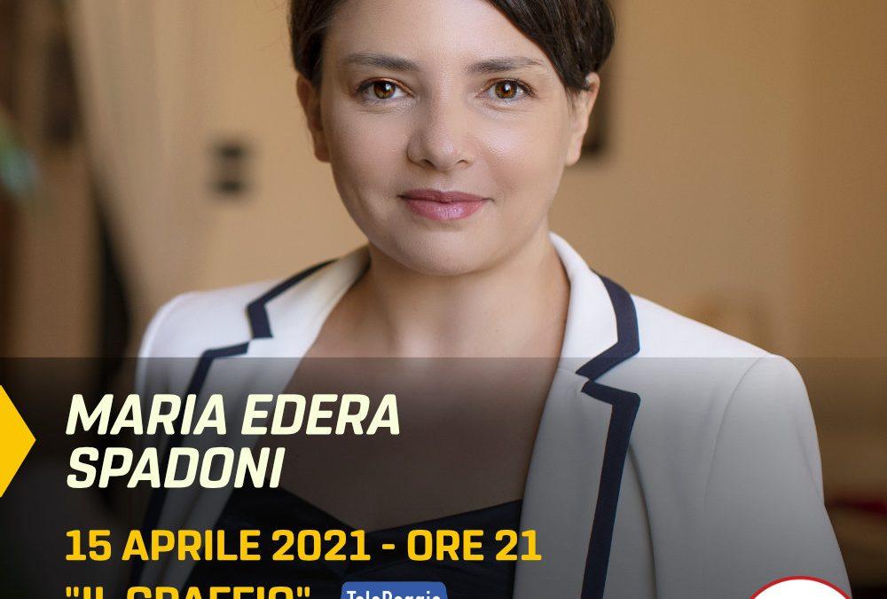 """Maria Edera Spadoni ospite del programma TV """"IL GRAFFIO"""""""