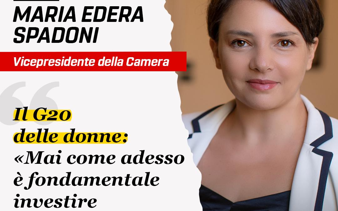 SUMMIT WOMEN20 – INTERVISTA A MARIA EDERA SPADONI per AVVENIRE