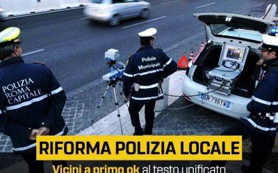 """RIFORMA DELLA POLIZIA LOCALE, SPADONI (M5S): """"120 MILIONI PER MISURE CONTRATTUALI"""""""